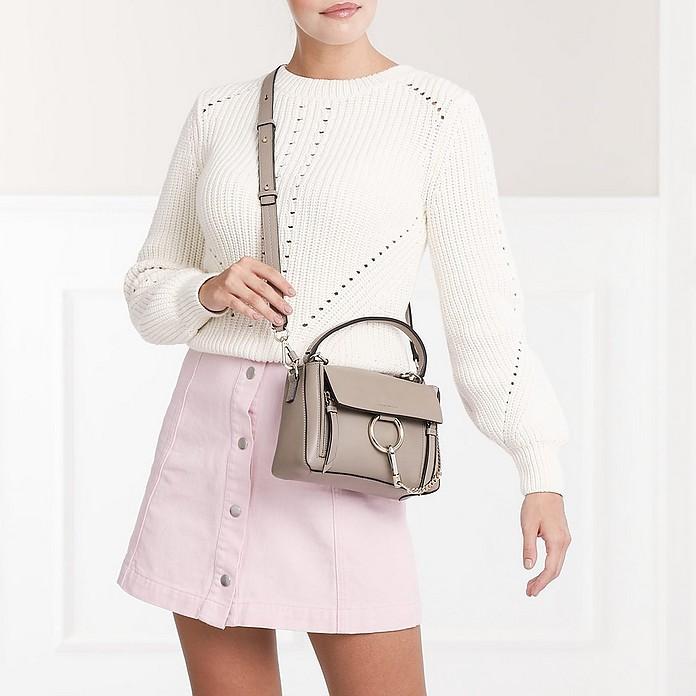 c8f0ddb301 Faye Day Mini Leather Motty Grey