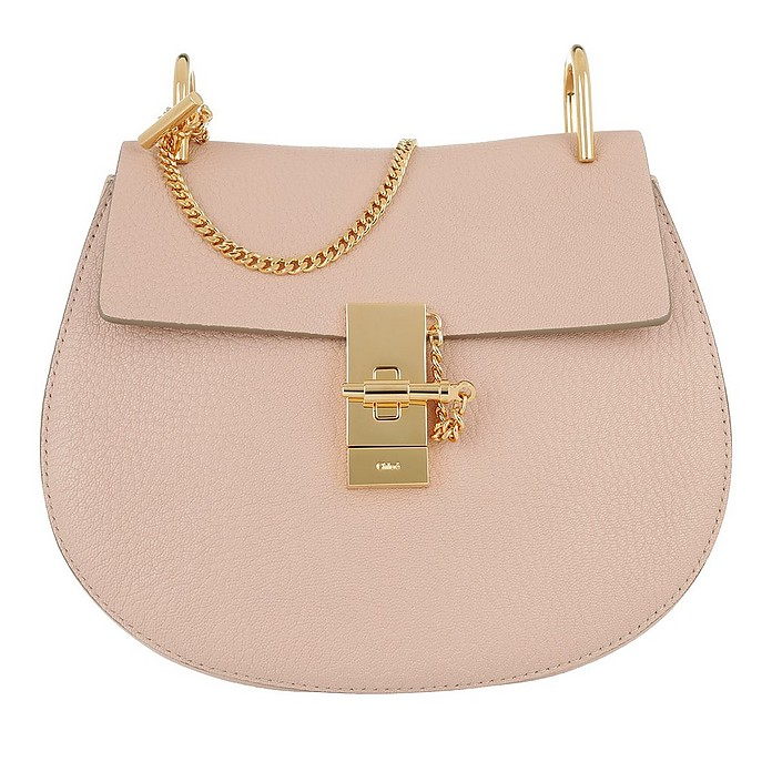 Drew Crossbody Bag Cement Pink - Chloe