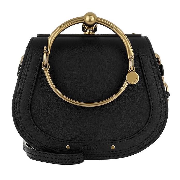 Small Nile Bracelet Bag Black - Chloe
