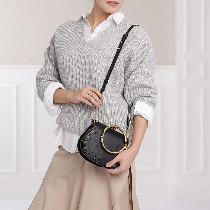 418aa24c3a Small Nile Bracelet Bag Black
