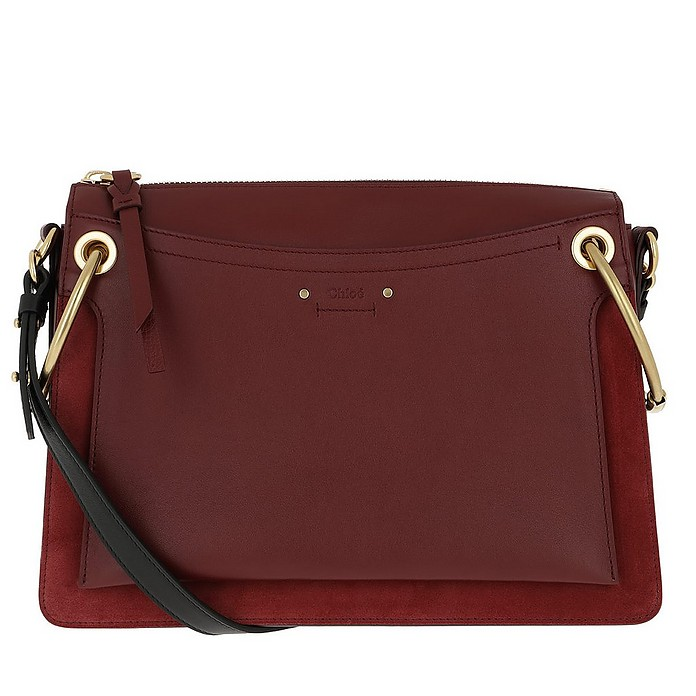 Roy Bag Medium Plum Purple - Chloe