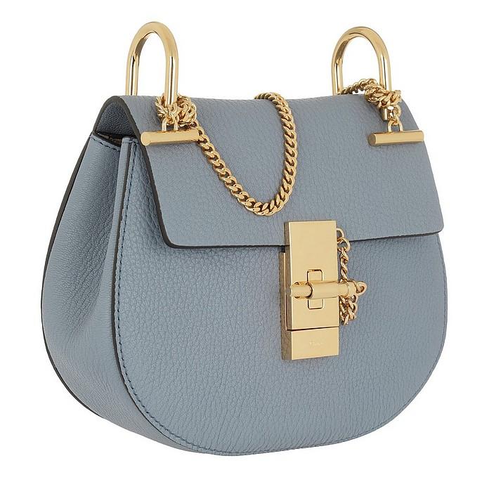 212a222c Chloe Drew Shoulder Bag Small Washed Blue