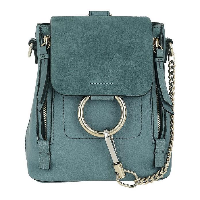 f7592731beeb Chloe Faye Backpack Mini Cloudy Blue at FORZIERI Canada