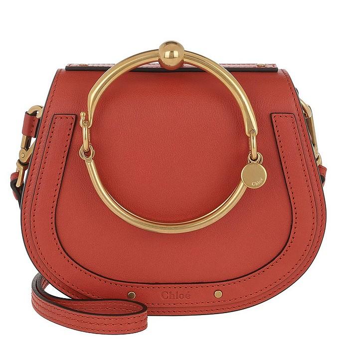 91c11ebb33 Small Nile Bracelet Bag Earthy Red
