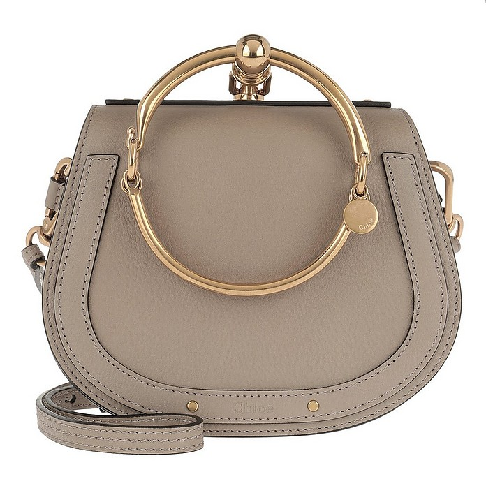 Small Nile Bracelet Bag Motty Grey - Chloe