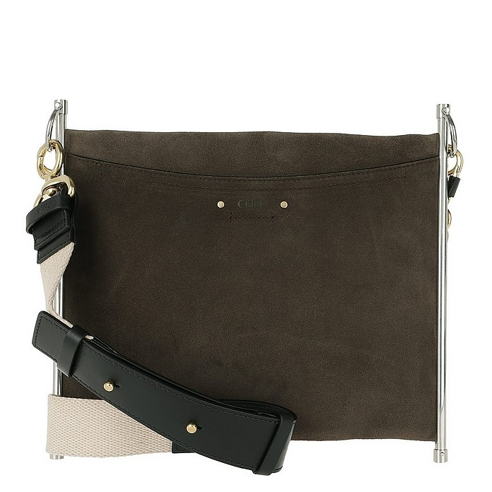 Roy Clutch Medium Roasted Brown - Chloe / クロエ
