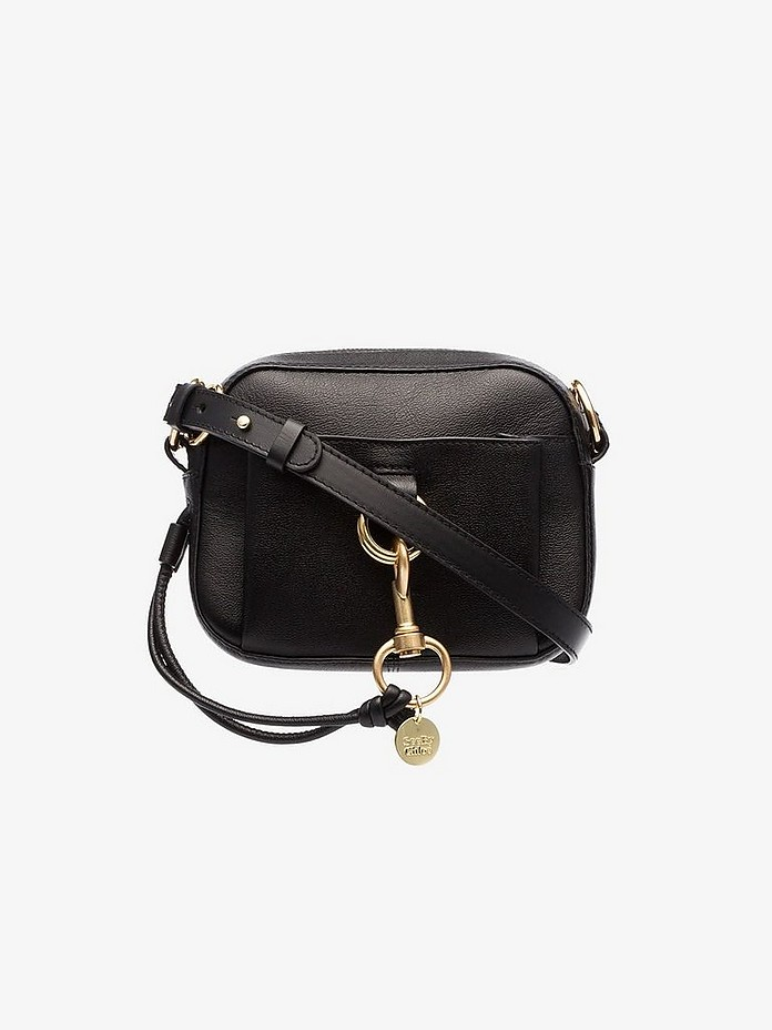 See By  Black clasp detail cross body bag - Chloé