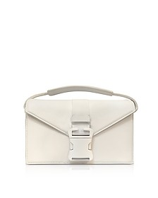 White Grained Leather Devine Og Bag - Christopher Kane