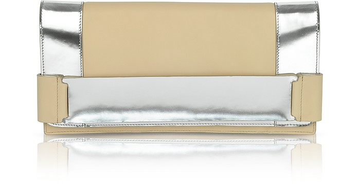 Large Leather Clutch - Calvin Klein Collection