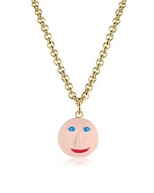 Face Charm Necklace  - Christopher Kane