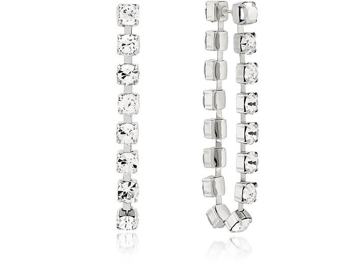 Crystal Chain Earrings - Christopher Kane / クリストファー ケイン