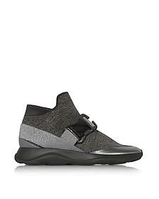 Htop No Toe E Grey & Silver Sneaker - Christopher Kane