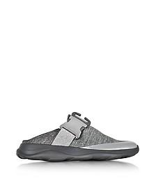 色调灰色和银色面料套穿式运动鞋 - Christopher Kane