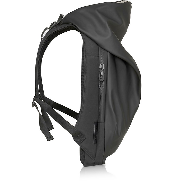 New Nile Obsidian Black Polyester Backpack - Côte&Ciel