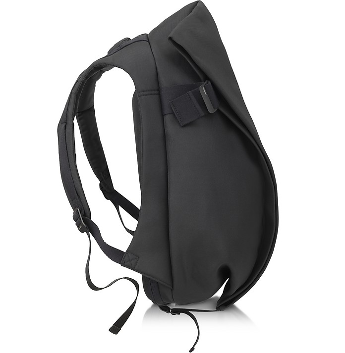 Isar Medium Black Eco Yarn Backpack - Côte&Ciel