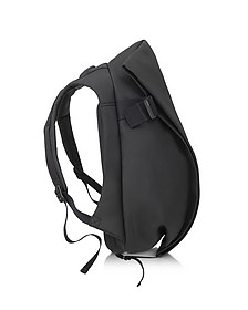 Isar Medium Black Eco Yarn Backpack - Cote&Ciel
