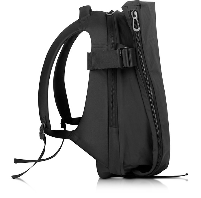 Isar Medium Black Memory Tech Backpack - Côte&Ciel