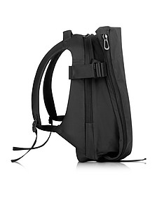 Isar Medium Black Memory Tech Backpack