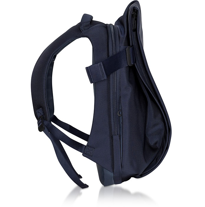 Ballistic Blue Nylon ISAR M Backpack - Côte&Ciel