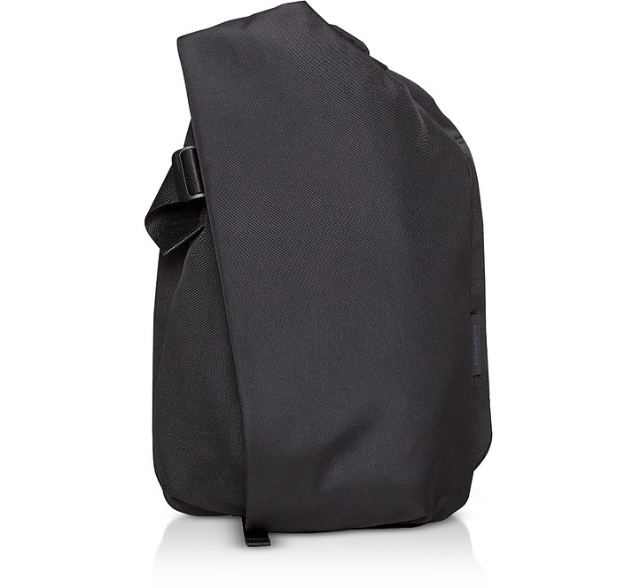 Black Isar Large EcoYarn Backpack - Côte&Ciel