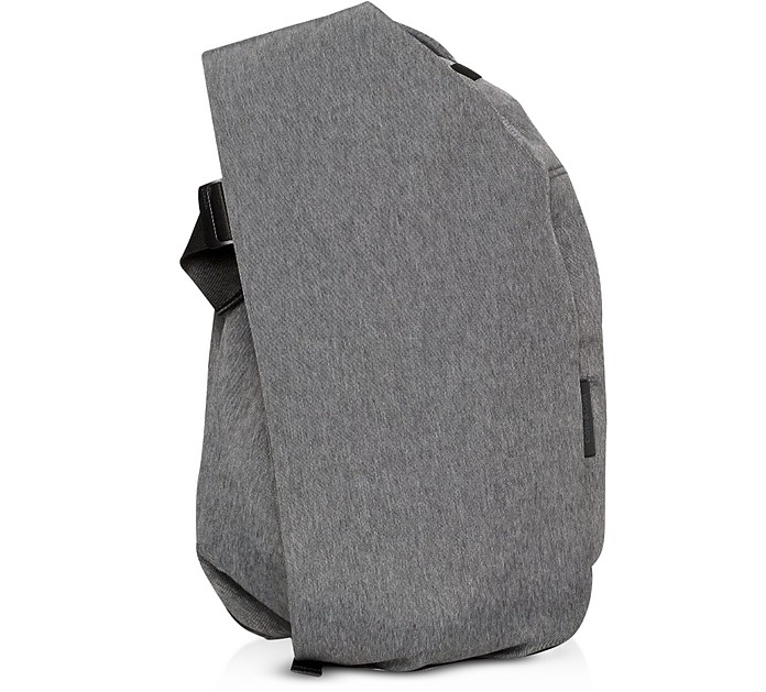 Black Melange Isar Large EcoYarn Backpack - Côte&Ciel