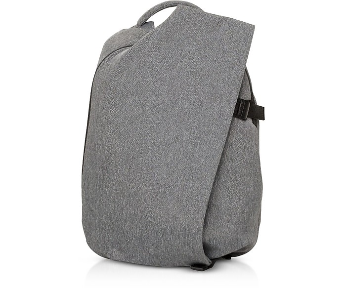 Black Melange Isar Small EcoYarn Backpack - Côte&Ciel