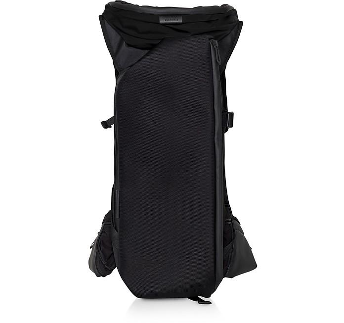 Ashokan Black Ballistic Nylon Backpack - Côte&Ciel