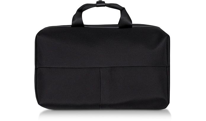 Black Garonne Convertible Briefcase  - Côte&Ciel