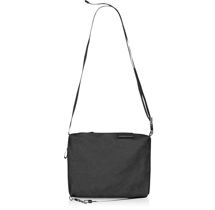 Black Coated Canvas Inn S Crossbody Bag - Côte&Ciel