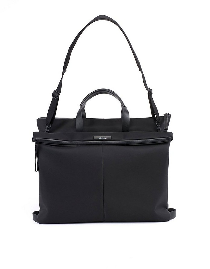 Orga Sleek Black Briefcase - Côte&Ciel