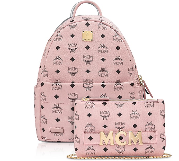 Pink Visetos Trilogie Stark Backpack