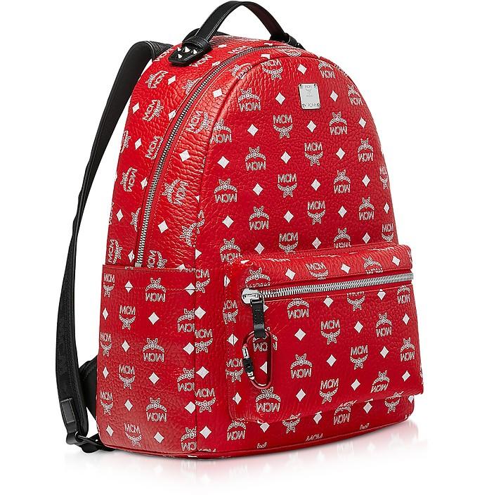 5fda4ffa6 Viva Red Stark Backpack w/White Logo Visetos 40 - MCM. $868.00 Actual  transaction amount