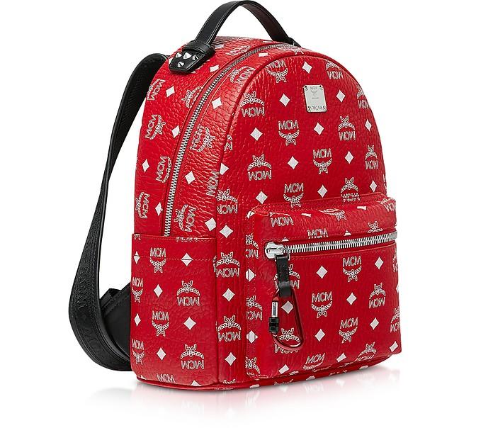 d7f0c62ae Viva Red Stark Backpack w/White Logo Visetos 32 - MCM. £629.00 Actual  transaction amount