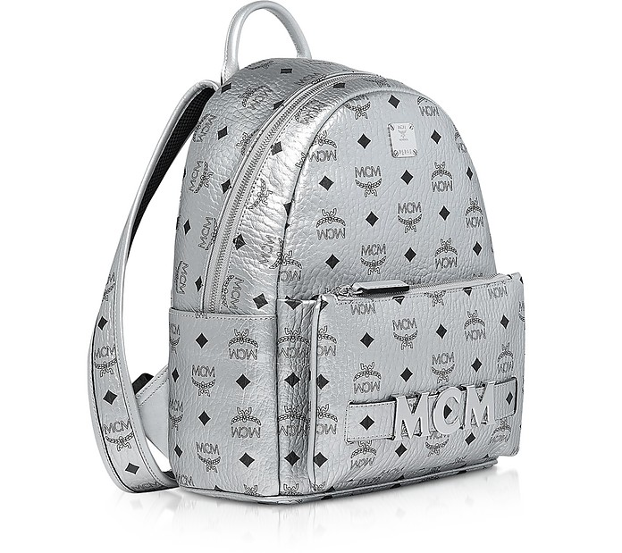 Berlin Silver Visetos Trilogie Stark Backpack