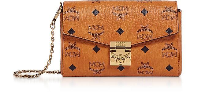 Cognac Visetos Millie Crossbody Bag