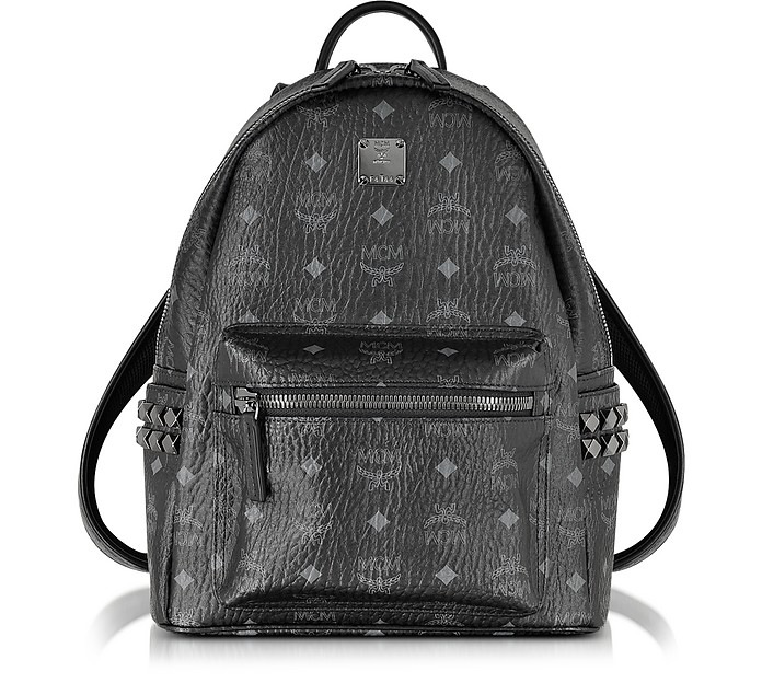 Stark Black Small Backpack - MCM