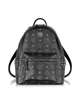 74011ac11b412 Stark Black Small Backpack - MCM