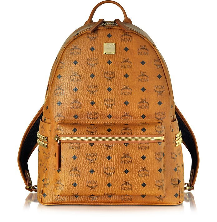 Cognac Stark Medium Backpack - MCM