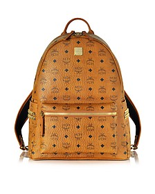 Medium Stark Cognac Backpack - MCM
