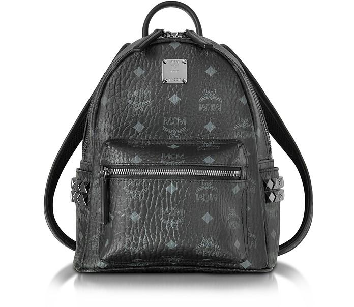 Mini Stark Rucksack in schwarz - MCM