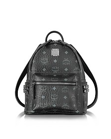 Black Mini Stark Backpack - MCM