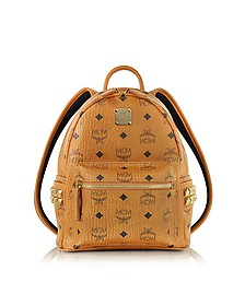 Cognac Mini Stark Backpack - MCM
