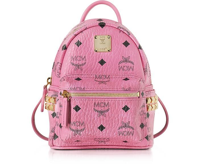 Pink X-Mini Stark Backpack - MCM