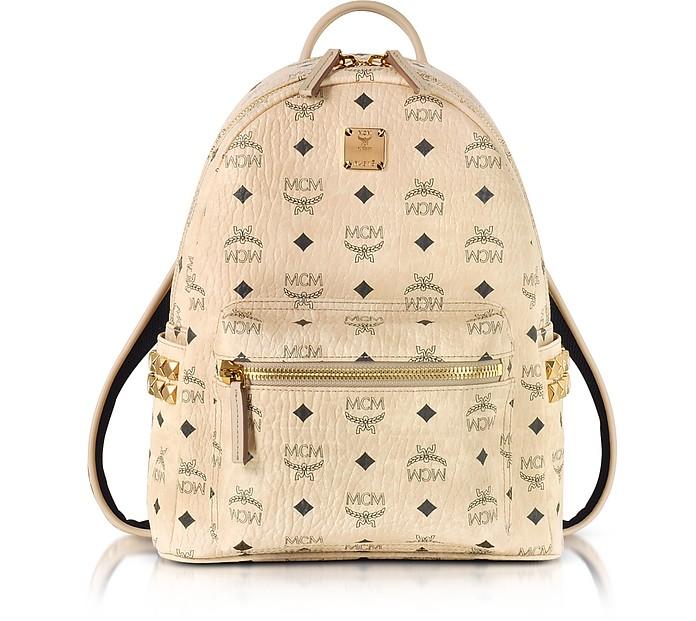 Stark Small Rucksack in beige - MCM