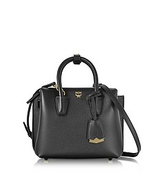 Black Mini Milla Tote Bag - MCM