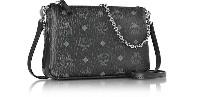 25331c207 Millie Visetos Black Medium Zip Crossbody Bag - MCM. C$654.00 Actual  transaction amount