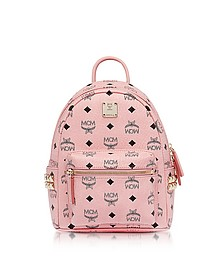Pink Mini Stark Backpack - MCM