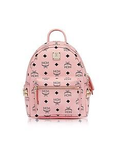 Mini Stark - Маленький Розовый Рюкзак - MCM