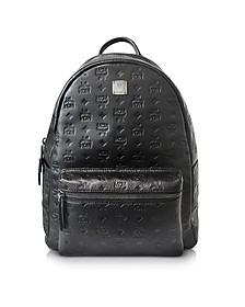 Ottomar Black Medium Men's Backpack - MCM