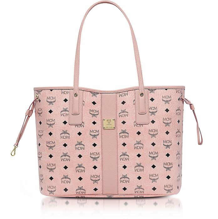 Shopper Project Visetos Soft Pink Medium Reversible Tote Bag